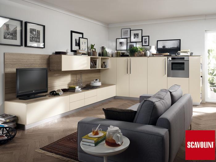Scavolini cucina living Feel Scenery – Terruzzi Interni